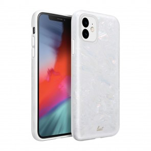 LAUT LAUT Pearl iPhone 11 - Arctic Pearl