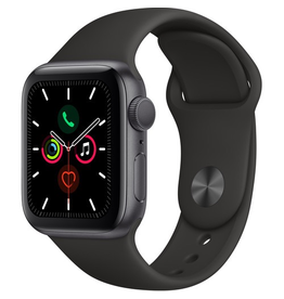 Apple MWV82LL/A Apple Watch S5 40mm - Space Gray/Black Sportband