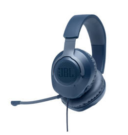 JBL JBL Quantum 100 Wired Gaming Headset - Blue
