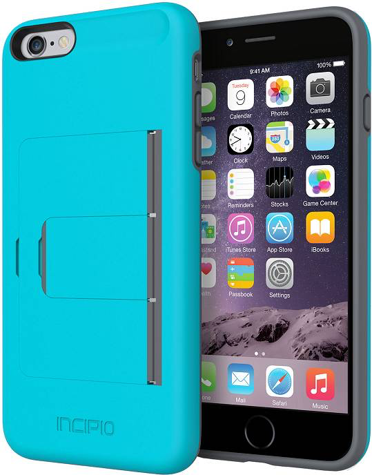 Incipio Incipio STOWAWAY [Advance] for iPhone 6 Plus - Blue/Gray
