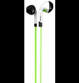 iFrogz InTone Earbuds w/ Mic - Green