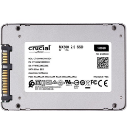 "Crucial Crucial MX500 2.5"" 1TB Internal SSD (T1000MX500SSD1)"