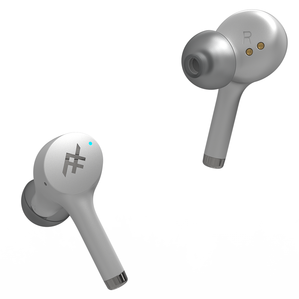 iFrogz Airtime Pro True Wireless In Ear BT Earbuds - White