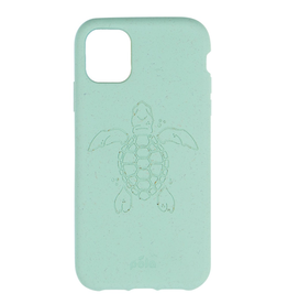 Pela Pela Eco-Friendly case iPhone 11 Pro - Ocean Turquoise Turtle