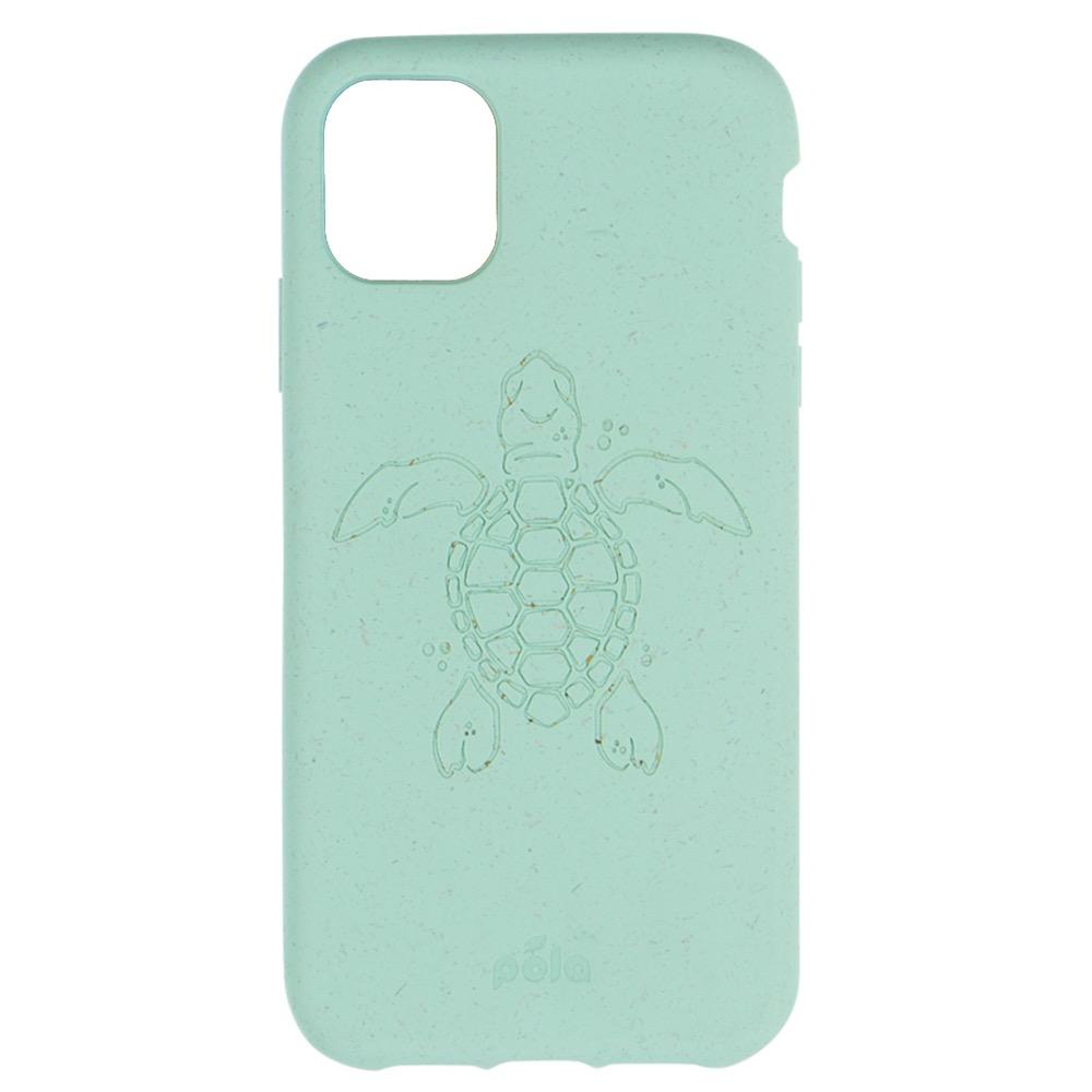 Pela Pela Eco-Friendly case iPhone 11 Pro Max - Ocean Turquoise Turtle
