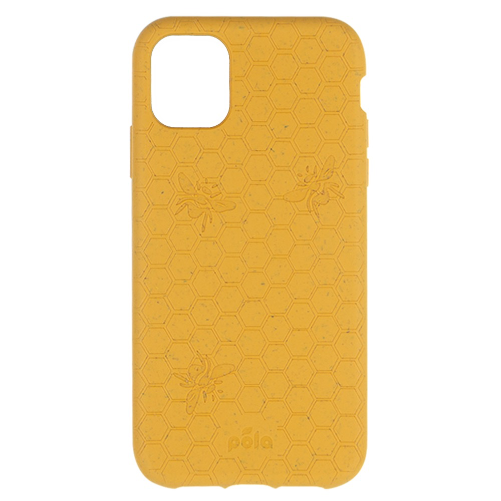 Pela Pela Eco-Friendly case iPhone 11 Pro Max - Honey Bee Edition