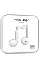 HappyPlugs Happy Plugs Earbuds w/ Mic - White