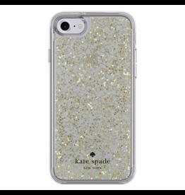 Kate Spade New York Kate Spade Glitter Case for iPhone 7 - Gold Glitter