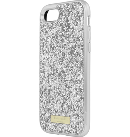 Kate Spade New York Kate Spade Explosed Glitter Case w/ Bumber for iPhone 7 - Silver/Silver