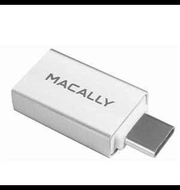 Macally Macally USB-C to USB-A Female Adapter (2-pack)