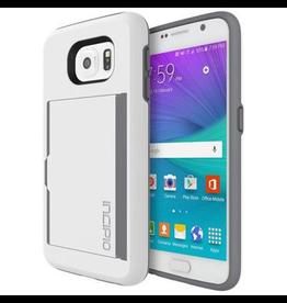 Incipio Incipio STOWAWAY for Galaxy S6 - White/Smoke