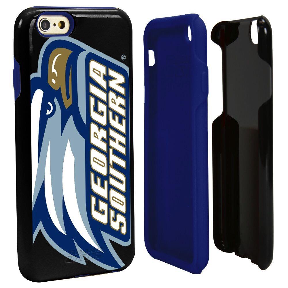 Logo Hyrbrid Phone Case for iPhone 6 Plus - Black