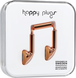 HappyPlugs Happy Plugs Earbuds - Rose Gold