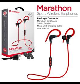 HyperGear HyperGear Marathon Sport Wireless Earbuds - Red