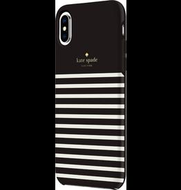 Kate Spade New York Kate Spade Hardshell Case for iPhone XS Max - Feeder Stripe