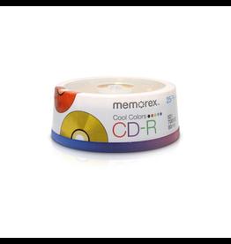Memorex CD-R 25pk 52X