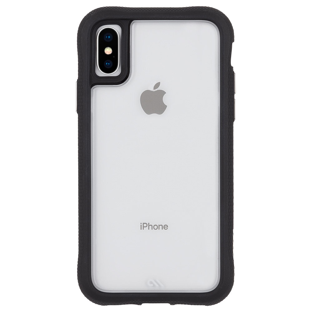 CaseMate Case Mate Protection Case for iPhone X/XS - Clear/Black