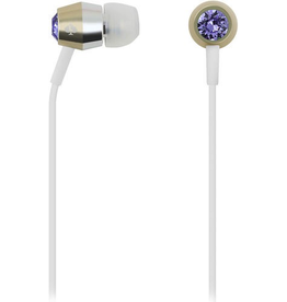 Kate Spade New York Kate Spade Earbuds - Tanzanite/Gold/Silver/White