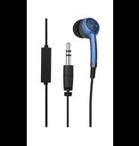iFrogz Plugz Earbuds w/ Mic - Blue
