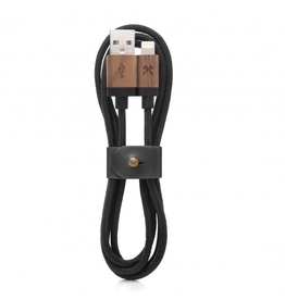 Woodcessories Woodcessories EcoCable Lightning Cable - Walnut/Black