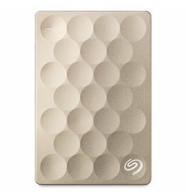 Seagate Backup Plus Ultra Slim Hard Drive 2TB - Gold