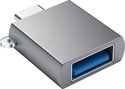 Satechi Satechi USB-C to USB-A 3.0 Female Adapter - Space Gray