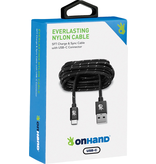 OnHand OnHand USB-C Charging Cable 5ft - Black