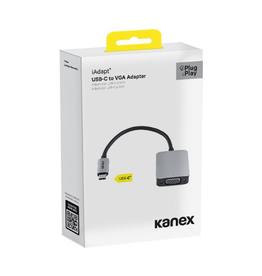 Kaxex USB-C to VGA Adapter