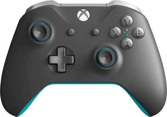 Microsoft Microsoft Xbox One Controller - Electric Blue/Grey