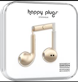 HappyPlugs Happy Plugs earbuds w/ Mic - Matte Gold