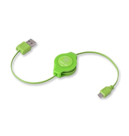 ReTrak ReTrak Micro-USB Cable Green