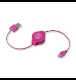 ReTrak ReTrak Micro-USB Cable Pink