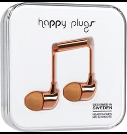 HappyPlugs Happy Plugs In-Ear Earbds - Rose Gold