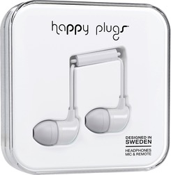 HappyPlugs Happy Plugs In-Ear Earbuds - White