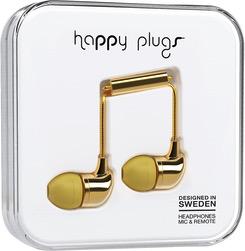HappyPlugs Happy Plugs In-Ear Earbuds - Gold