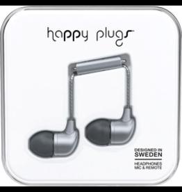 HappyPlugs Happy Plugs In-Ear Earbuds - Space Gray