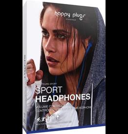 HappyPlugs Happy Plugs Sport Earbuds - Cobalt