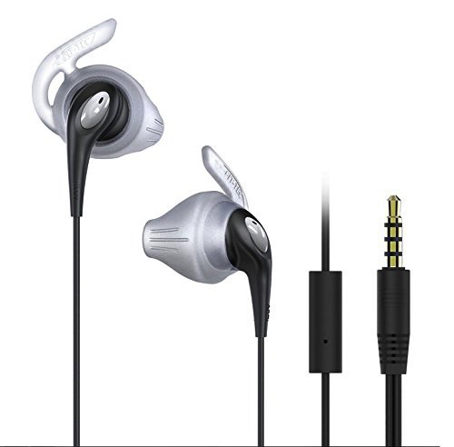 iLuv Earbuds w/ Mic Active - Black