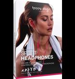 HappyPlugs Happy Plugs Sport Earbuds - Cerise