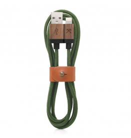 Woodcessories Woodcessories EcoCable Lightning Cable - Walnut/Green