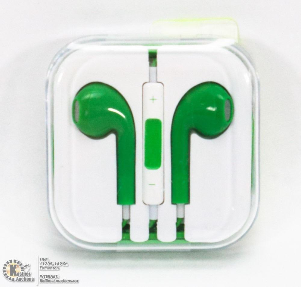 Xavier Green Earbuds