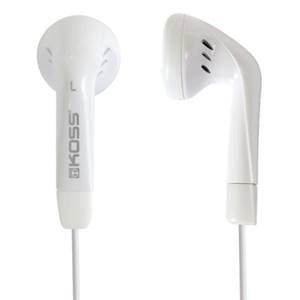 Koss KE5W Earbuds - White