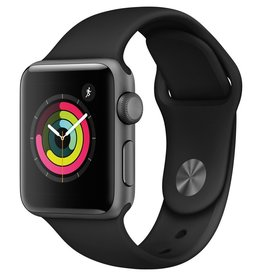 Apple MQKV2LL/A Apple Watch Series 3 38mm - Space Gray Aluminum w/ Black Sport Band