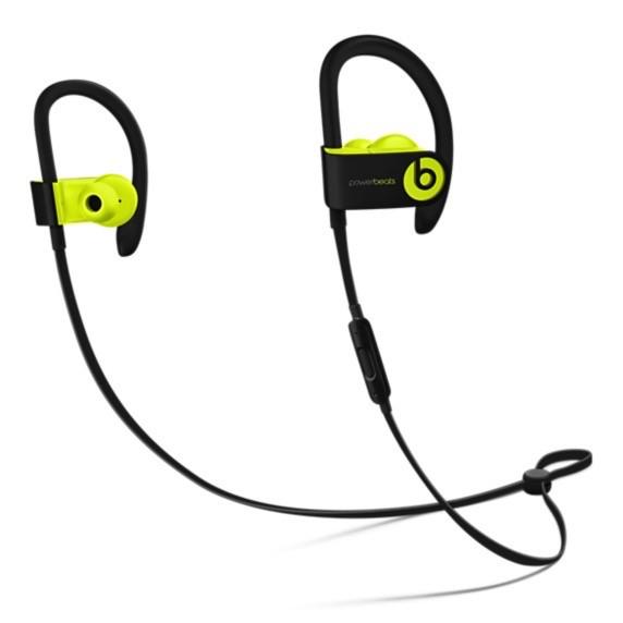 Apple MNN02LL/A PowerBeats 3 - Shock Yellow