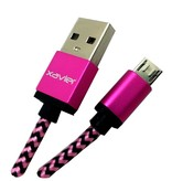 Xavier Xavier Micro USB 6ft Pink