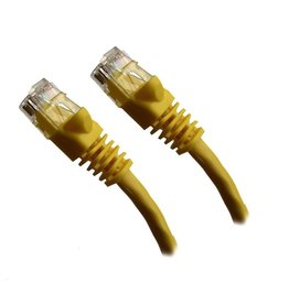 Xavier CAT5 Network Cable Yellow 25 Feet