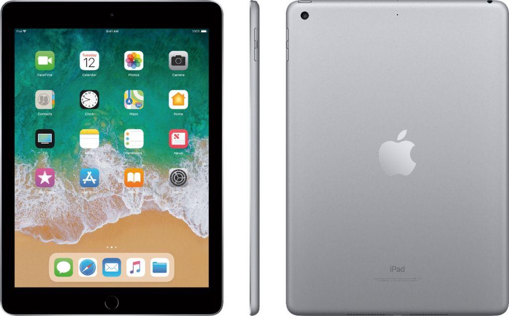 Apple Mr7j2ll A Ipad 6th Gen 128gb E Gray