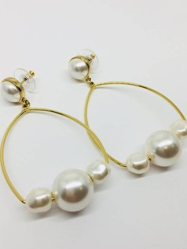 Mignonne Gavigan Manissa Pearl Earrings
