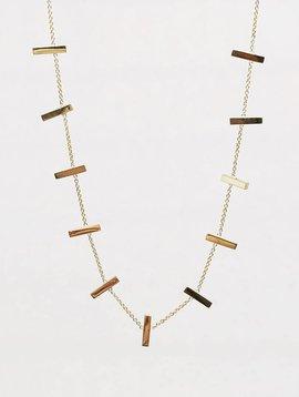 Jennifer Meyer Jennifer Meyer Cross Bar Necklace