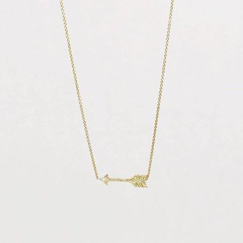 Jennifer Meyer Jennifer Meyer Diamond Arrow Necklace